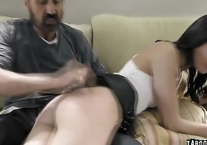 Stepdauther receives a fuck punishment