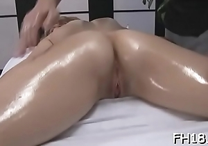 Downcast coddle gets fucked hard and gives a massage!