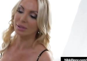 Benz BlowJob Ever! Nikki Benz Sucks Cock POV!