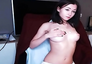 Super Cute Latvian Livecam Woman Sucks Toy exposed to Livecam