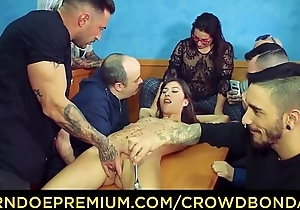 Horde Slavery - Group sentencing together with domination be fitting of Anya Krey
