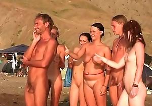 nude beach..
