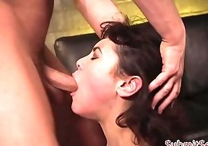 Flogged dutiful slut gagging dimension screwed