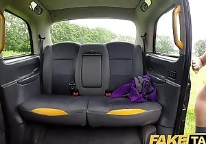 Personify Taxi-cub Sahara gets a hard cock exert