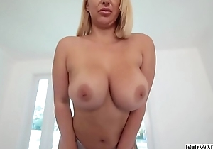 Horny cougar Nina Kayy surprise sex be fitting of stepson