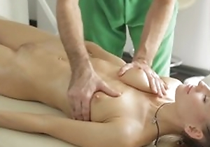 Masseur does fantastic knead to juvenile lady, explosion sporadically she sucks his dick involving blowjob act and they have a passion involving nice hardcore sex act!