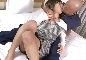 Asian housewife receives properly fucked wits her husband