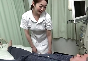 Well done Asian nurse gives their way patient a hot blowjob