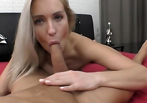 Passionate European indulge with natural breasts acquires nicely drilled