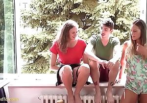 juvenile teens triplet fun mmf