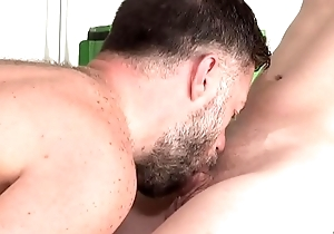 Young distribution guy drilled hard