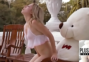 Teen dame Tracy fucked by ritch teddy suffer vanguard  country estate hither a jungle of Bermuda