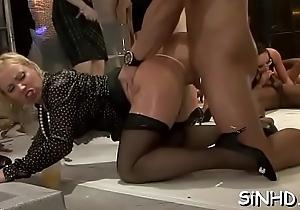 Orgy porn clips